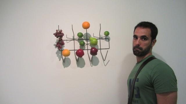 Escultura moderna del museo Guggenheim