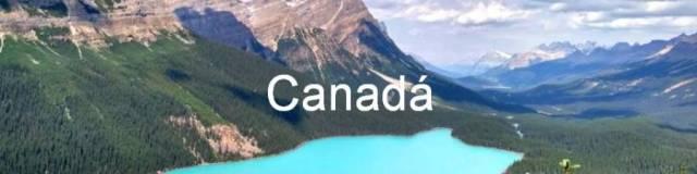 Canada 0. Lago Peyto, Montañas rocosas.