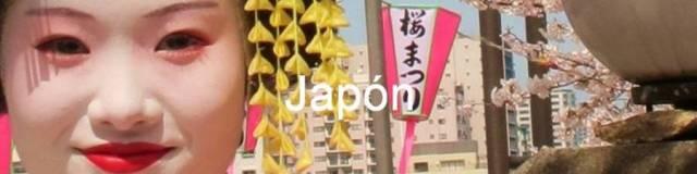 Japón. Mujer caracterizada como Maiko (aprendiz de Geisha) durante la floración de cerezo (sakura hanabi), Asakusa, Tokio