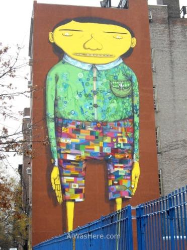 Grafiti en Chelsea, Nueva York