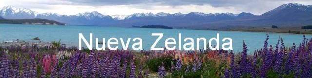 Nueva Zelanda, Lago Tekapo.