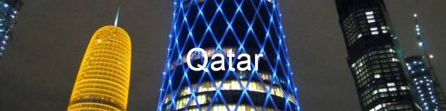 Qatar. Doha. Rascacielos del West Bay, Doha, Catar. Skyscrapers