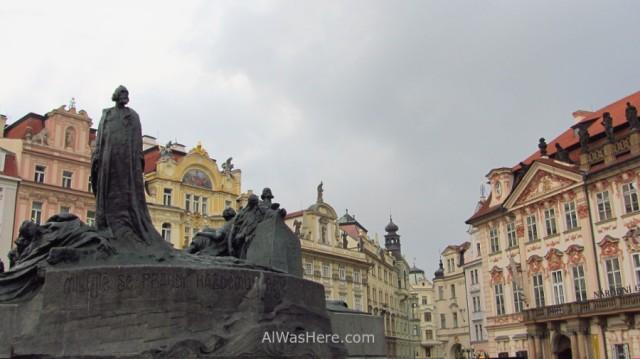 Edificios de la plaza Staromestska