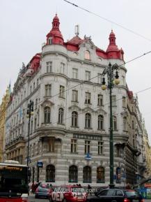 Edificio en la zona de Josefov - Stare Mesto