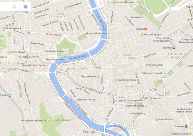 mapa roma 2