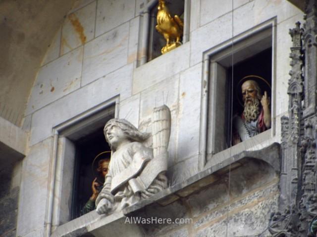 Praga Reloj Astronomico astronomical clock Prague apostoles apostles