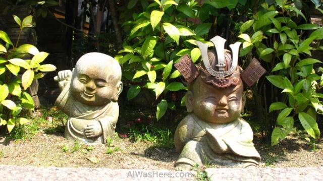 Estatuas en el Daisho In