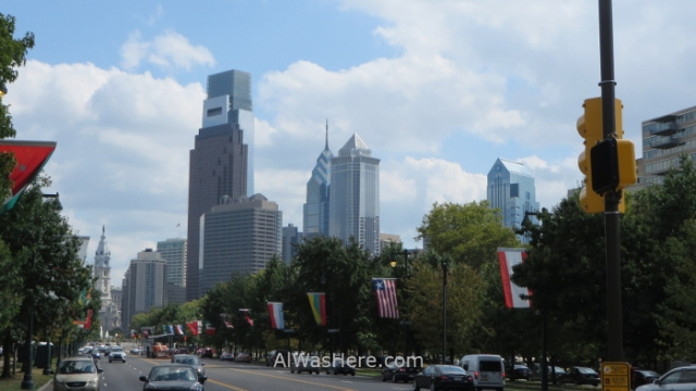 2014 Filadelfia desde el Museo de Arte Philadelphia museum