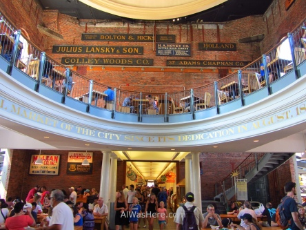 El Quincy Market de Boston