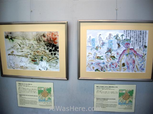 Dibujos de niños supervivientes