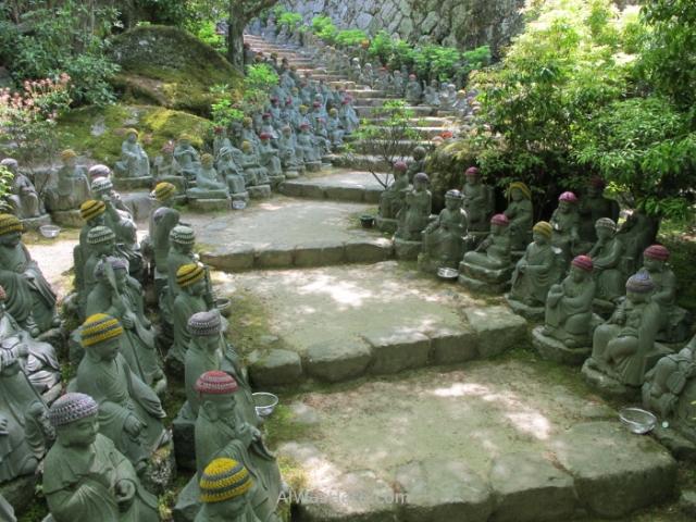 Esculturas sombrerito Daisho-in