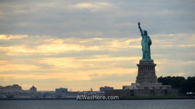 NUEVA YORK GOVERNORS ISLAND 11. vista estatua libertad Statue Liberty view New York City
