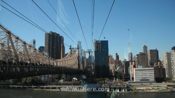 Roosevelt Island. teleferico tramway Nueva York New City