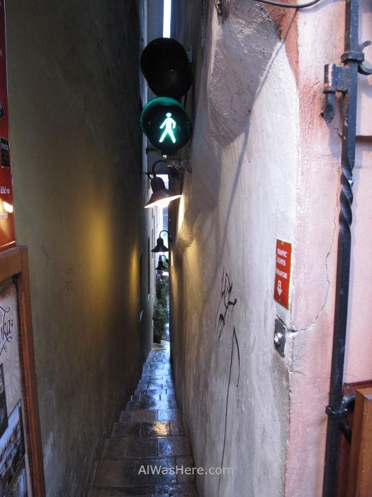 Calle estrecha, Praga