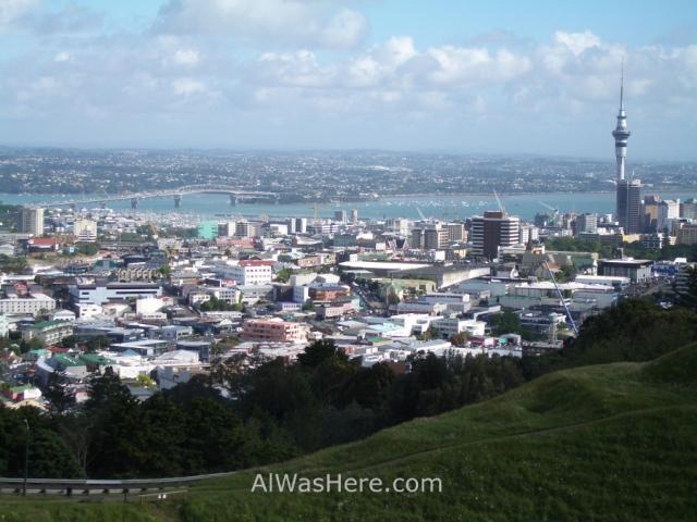 Vista desde el Mount Eden
