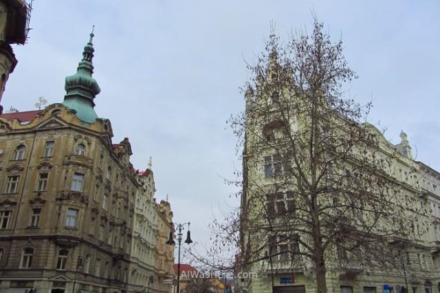 Edificios entre Josefov y Stare Mesto