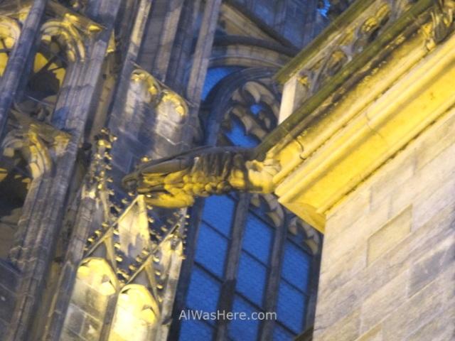 Praga Catedral San Vito Vitus Cathedral Prague gargola gamba langostino gargoile swrimp
