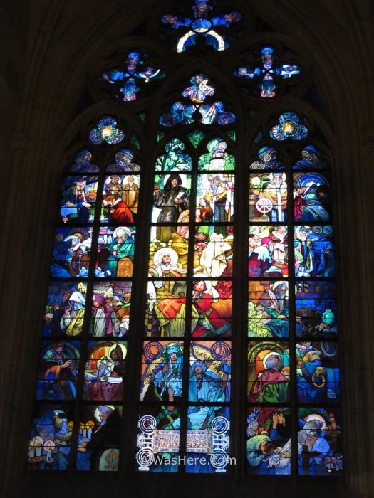 Vidrieras de la Catedral de San Vito