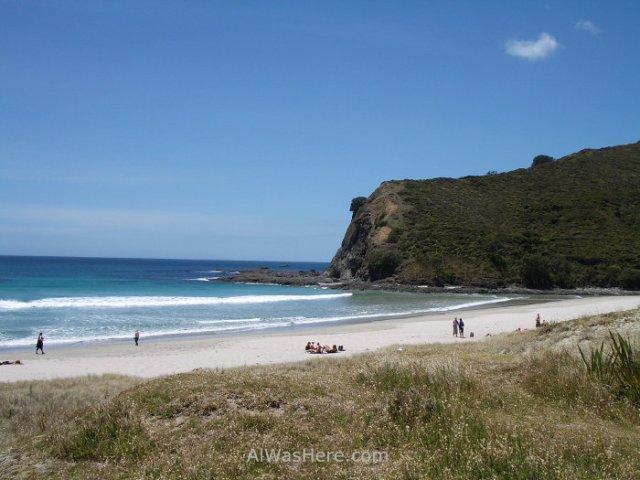 Playa en el Cabo Reinga