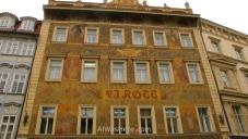 Fachada del HArd Rock Café en Praga