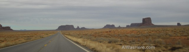 Llegando a Monument Valley