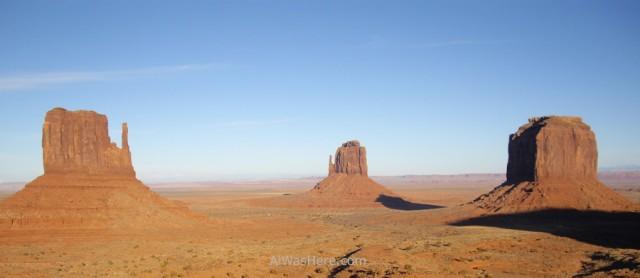 Monument Valley desde el Centro de Visitantes