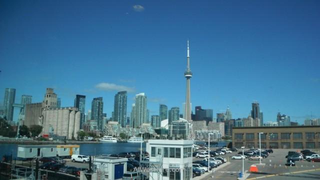 Toronto desde el aeropuerto