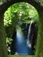 Vista de la Garganta desde un arco del puente