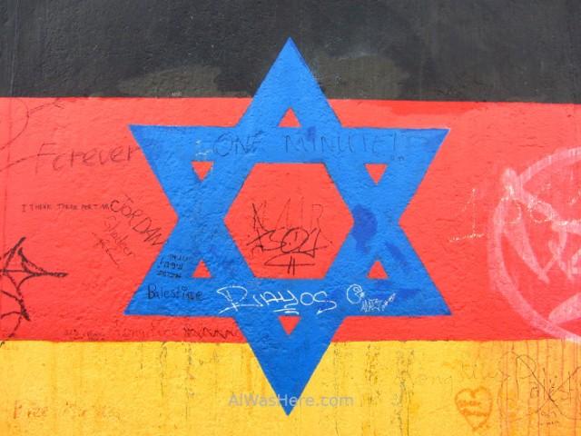 bandera-alemana-y-estrella-judia-east-side-gallery-muro-de-berlin-alemania-germany-wall-flag-jewish