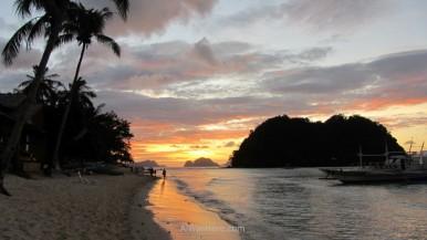 Playa Marimegmeg / Las Cabañas, El Nido, filipinas