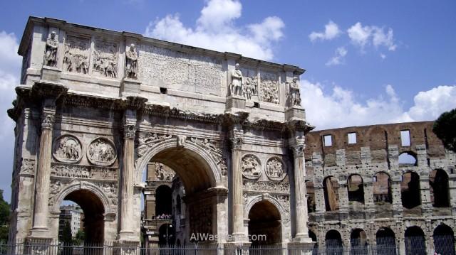7-arco-de-constantino-y-coliseo-roma-italia-arch-coliseum-rome-italy