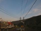 La estación de tren de Takamori