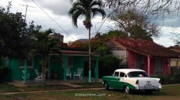 0. Coche antiguo taxi casa viñales vinales Cuba old car