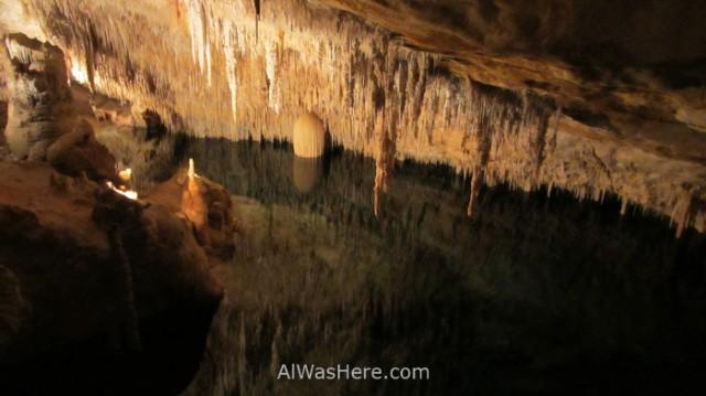 3. Baños de diana cuevas del drach porto cristo manacor mallorca españa. caves spain lago lake