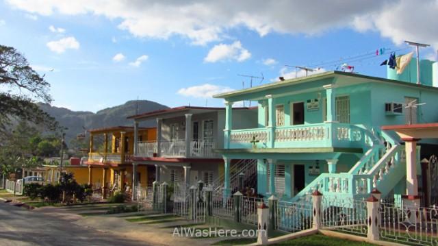 4. Casas reformadas viñales Cuba, houses Vinales