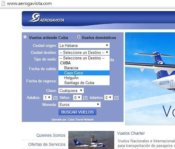 5. Web Aerogaviota