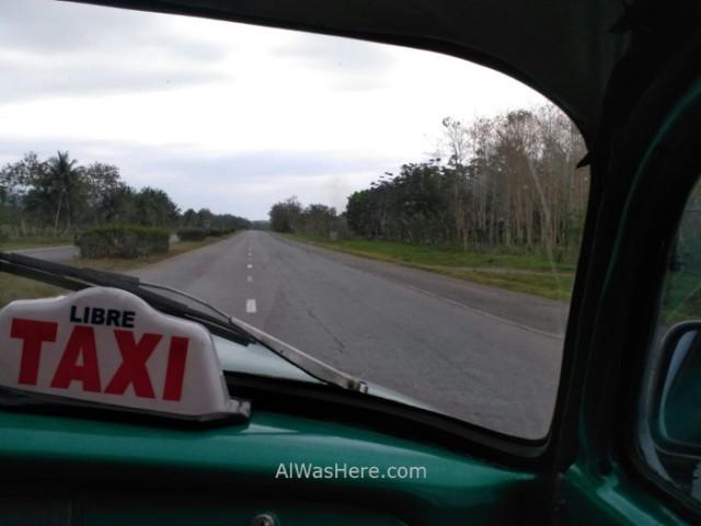 6. Carretera Road Cuba Taxi