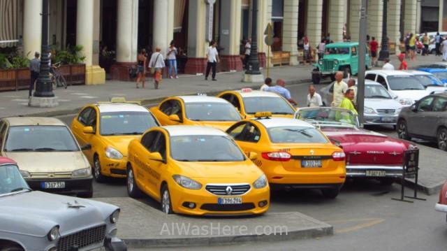 Taxis Cubacar La Habana Cuba. Havana.