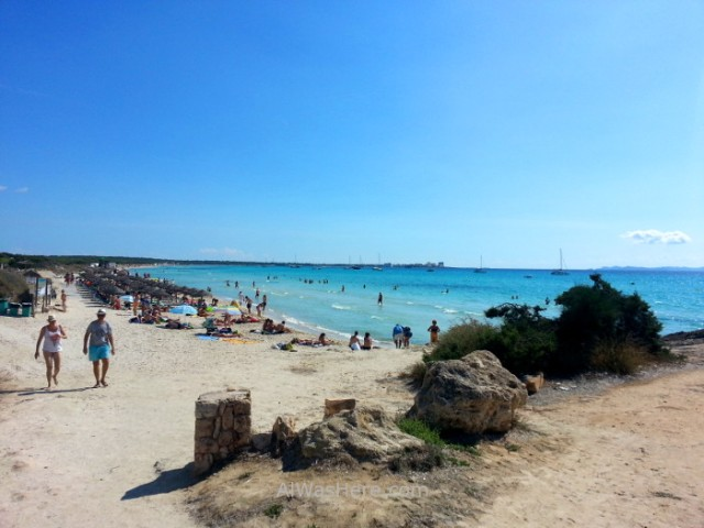 4. panoramica desde ses covetes, Playa Es Trenc Mallorca, Baleares, España. Beach, Spain