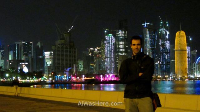 Corniche y rascacielos West Bay alwashere, Doha, Catar, Qatar