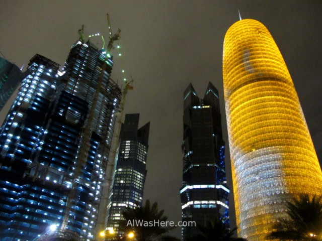 Doha 10. Rascacielos del West Bay, Doha, Catar. Skyscrapers Qatar