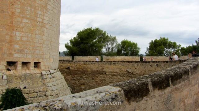 Palma Mallorca, Castillo Bellver. 3. España. Spain, Castle