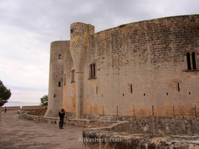 Palma Mallorca, Castillo Bellver. 4. España. Spain, Castle