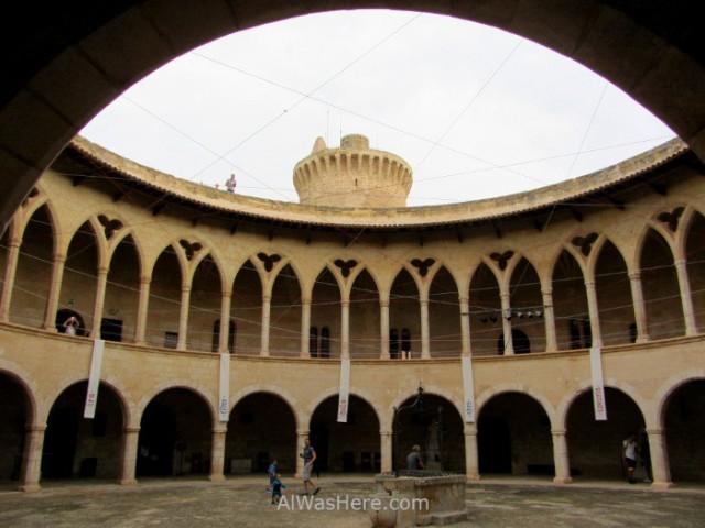 Palma Mallorca, Castillo Bellver. 5. España. Spain, Castle