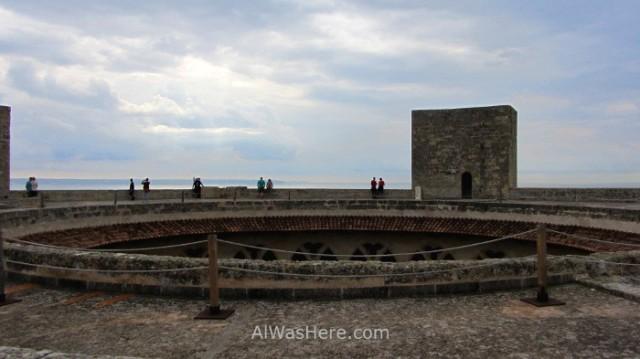 Palma Mallorca, Castillo Bellver. 6. España. Spain, Castle