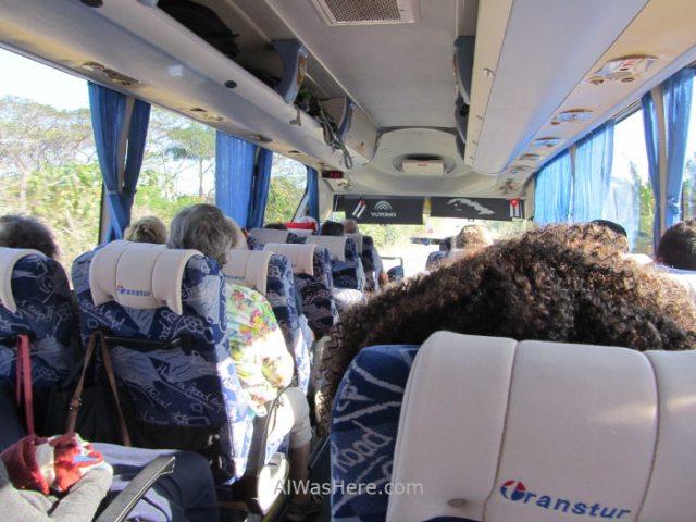 Bus guagua cubanacan conectando bus