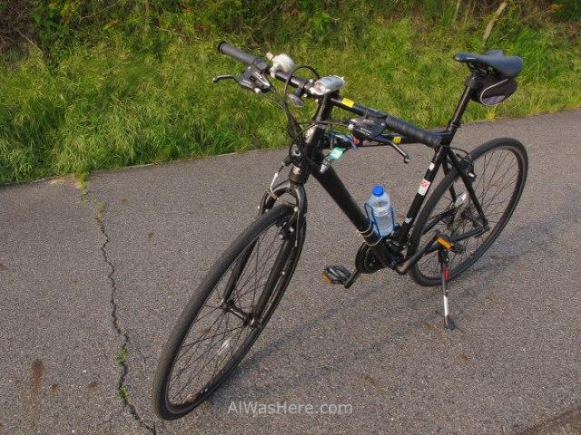 Bicicleta de alquiler Onomichi, Shimanami Kaido, Japon. Rental bike, Japan