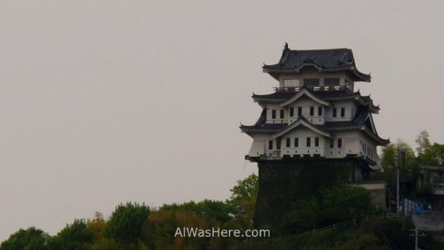 Shimanami Kaido 1. Castillo Onomichi Japon, castle japan