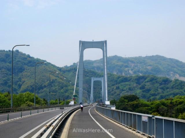 Shimanami Kaido 10. Puente Hakata - Oshima, Japon. Bridge, Japan