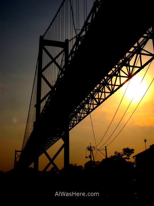 Shimanami Kaido 13. Puente Innoshima, Japon. Bridge, Japan